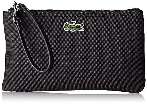 Lacoste NF2036PO Organizador de bolso, Mujer, Black (Black), 12 X 1 X 21 Cm: Amazon.es: Zapatos y complementos