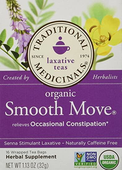 Amazoncom Traditional Blends Teas Smooth Move Traditional
