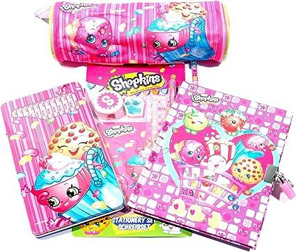 Shopkins BUNDLE Mega de brocas Character papelería Bumper Pack ...