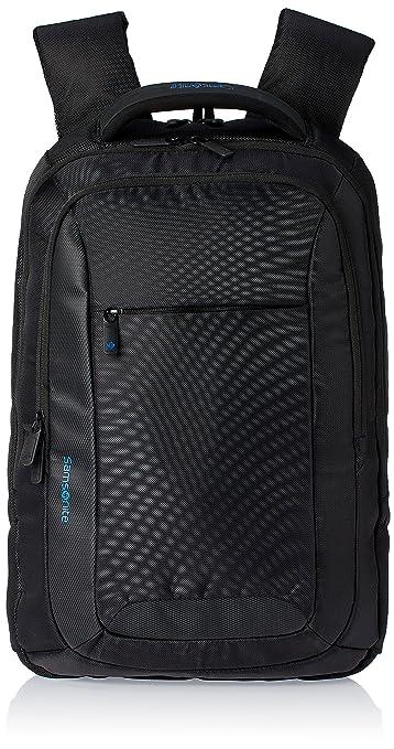 Samsonite Ikonn Polyester 20.5 Ltrs Black Laptop Backpack (31R (0 ...