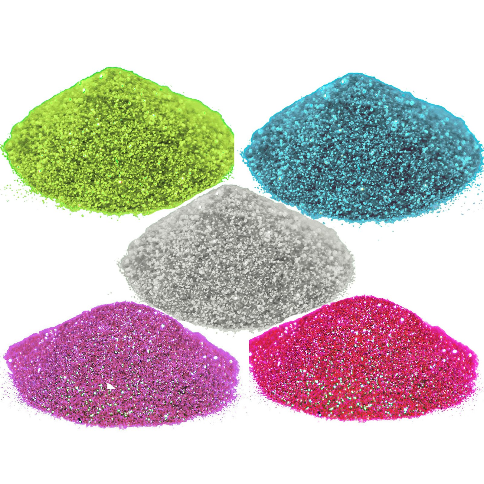 Asian Hobby Crafts Glitter Sparkle Powder (Pack of 5) product image