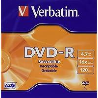 Verbatim 023942950936 Disco DVD-RW Virgen