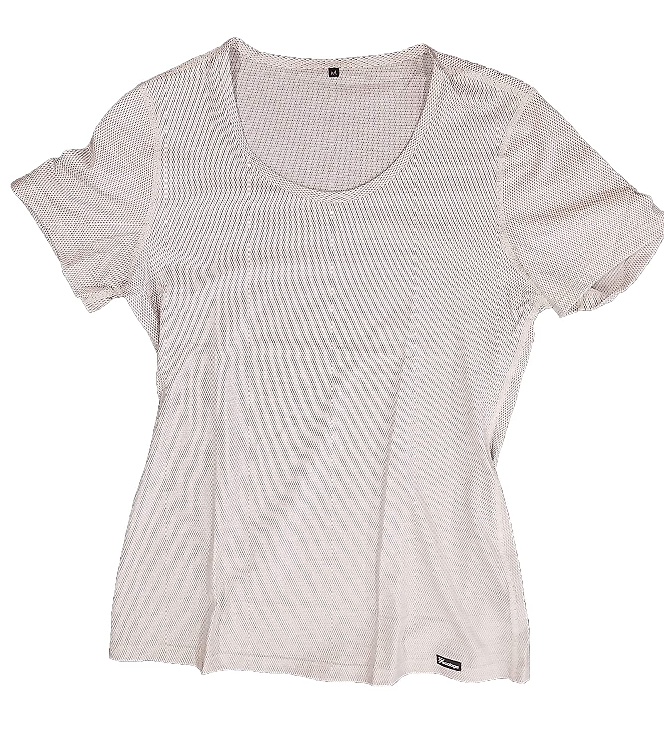Small Gen-El Anti-Wave Womens T-Shirt fro Wireless Radiation Protection by ECOLOGA