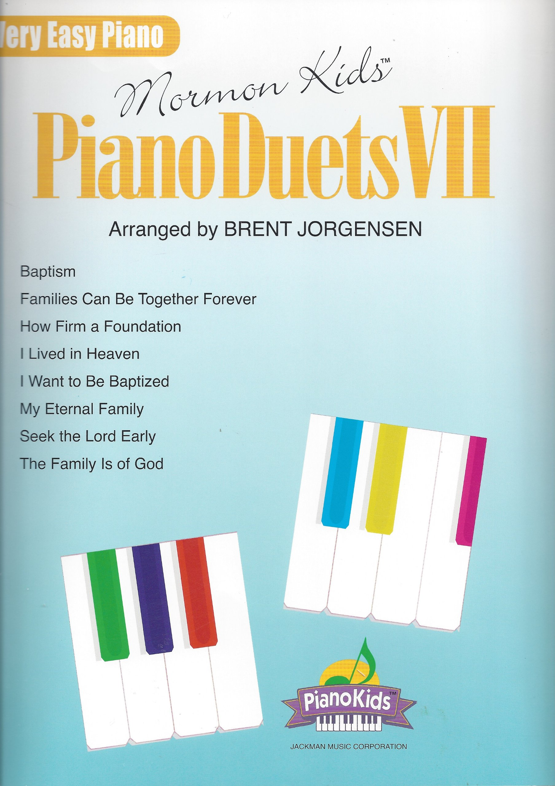 Download Mormon Kids Piano Duets VII (Very Easy Piano Duet Songbook) pdf epub