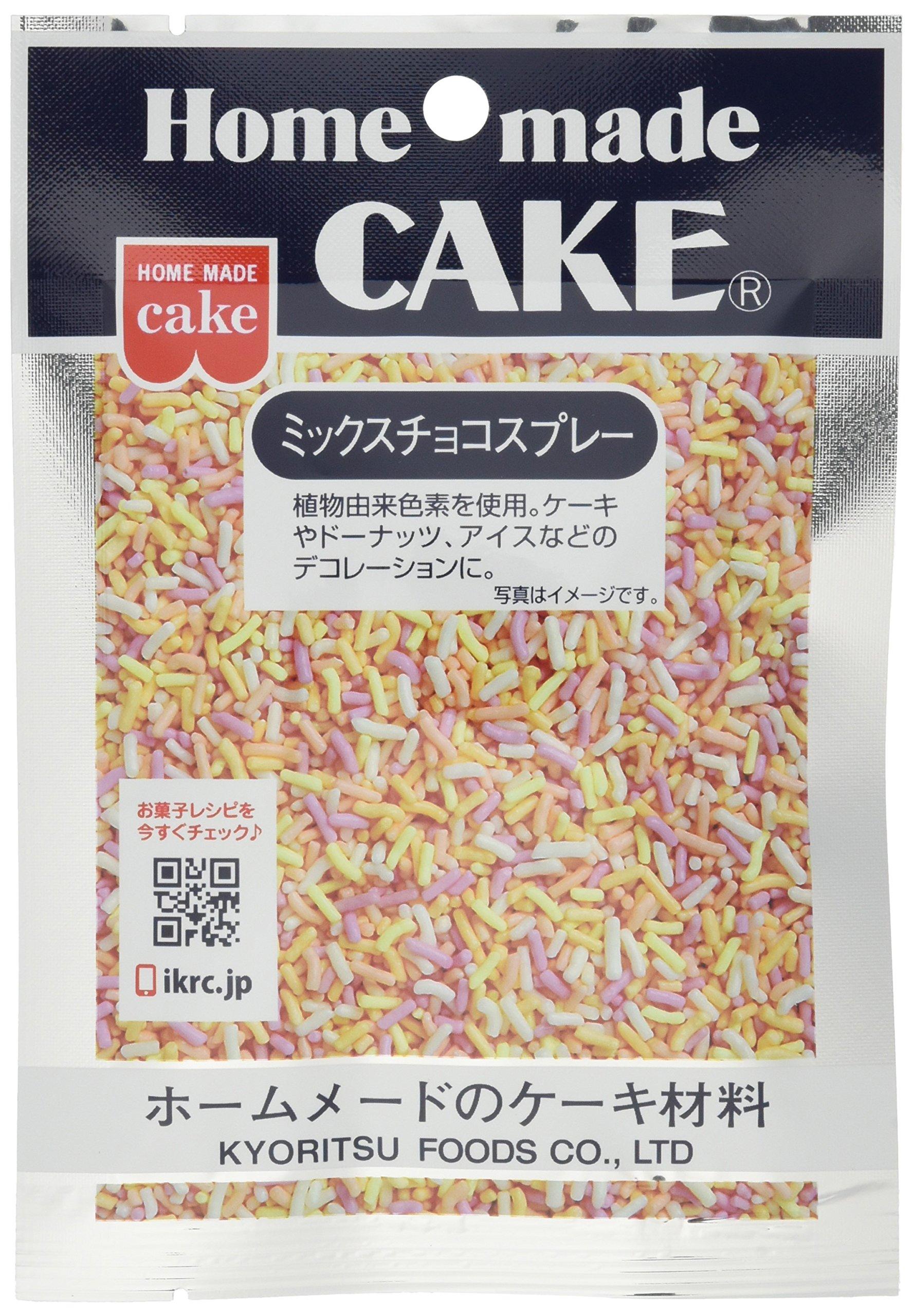 Kyoritsushokuhin mix chocolate spray 35gX10 bags