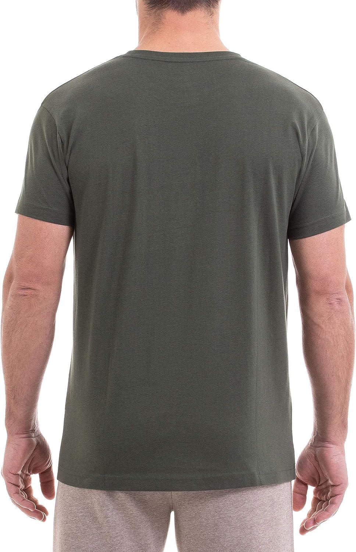 Jeep Mens Con Logo E Slogan Explore the Outdoors T-Shirt
