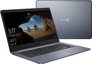 "ASUS Thin & Light 14"" LED Intel N3060 Celeron 4GB RAM 64GB eMMC Win 10 Notebook"
