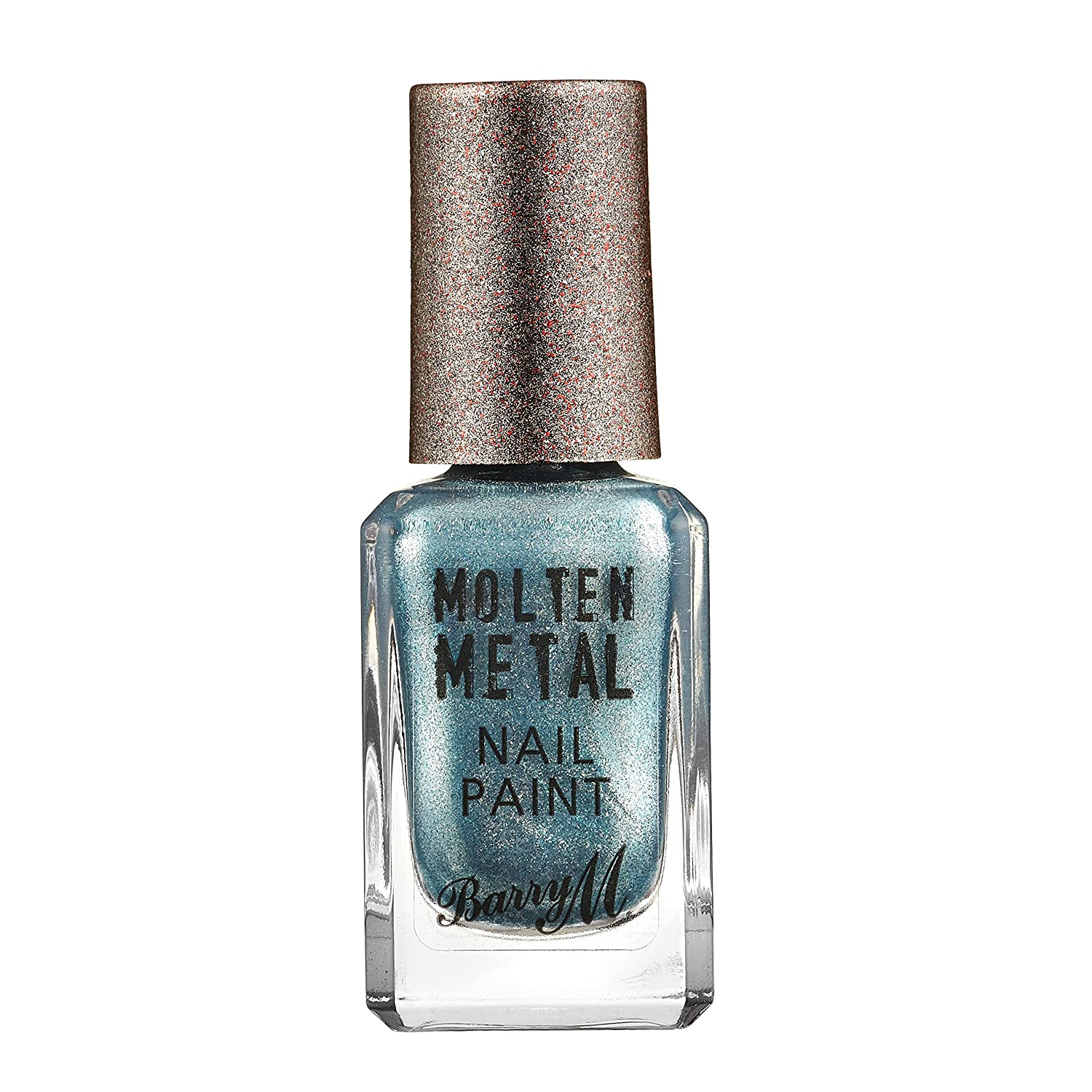 Barry M Cosmetics Molten Metal Nail Paint, Silver Lining BMBE4 MTNP3