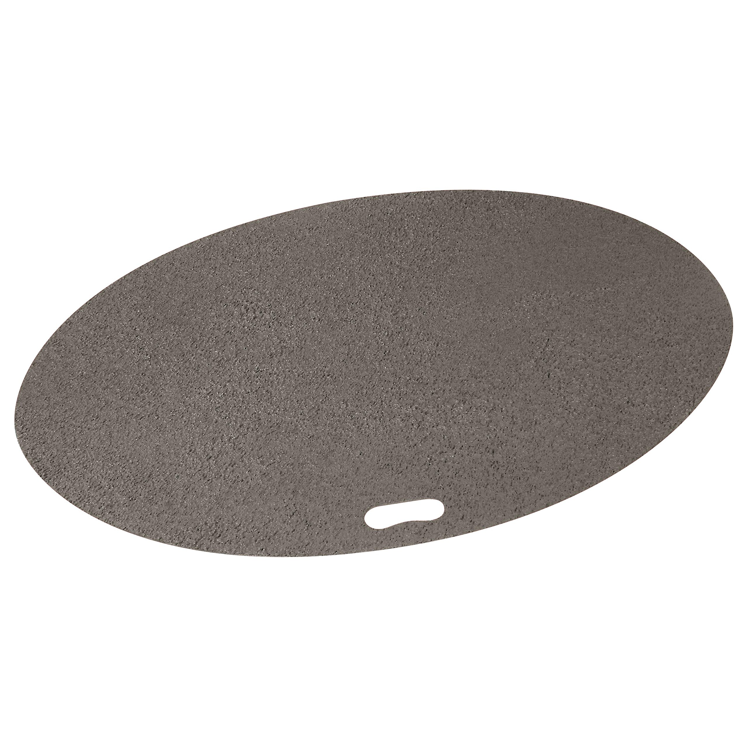 The Original Grill Pad Gray Grill Pad, Oval