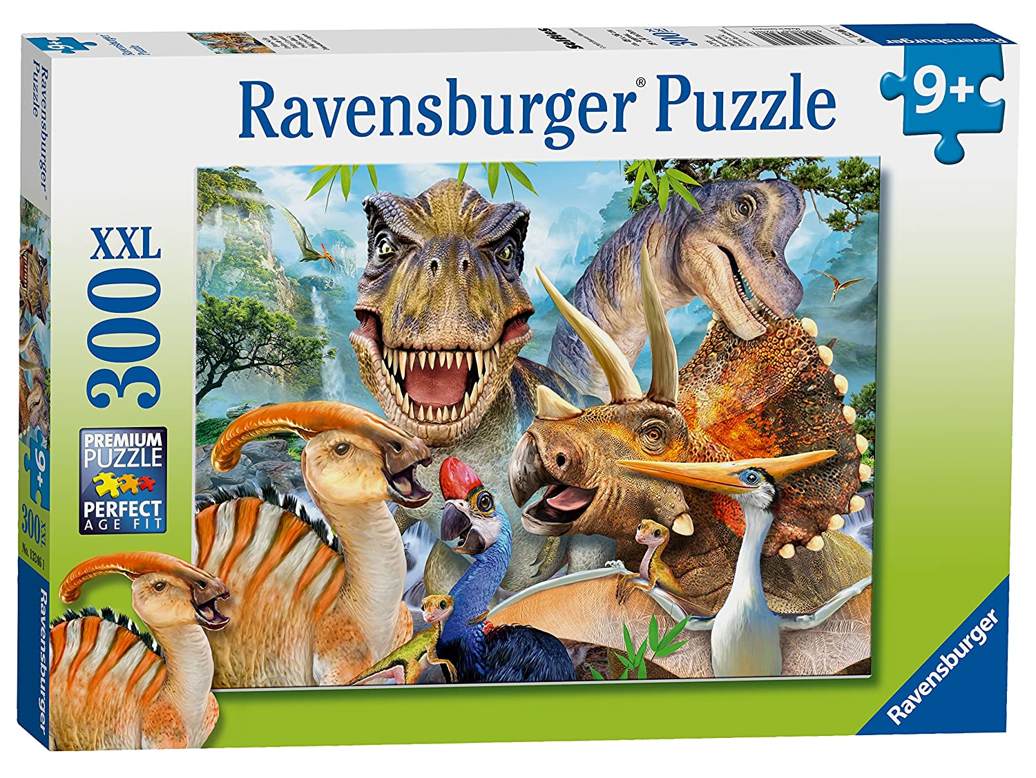 Ravensburger Delighted Dinos XXL 300pc Jigsaw Puzzle