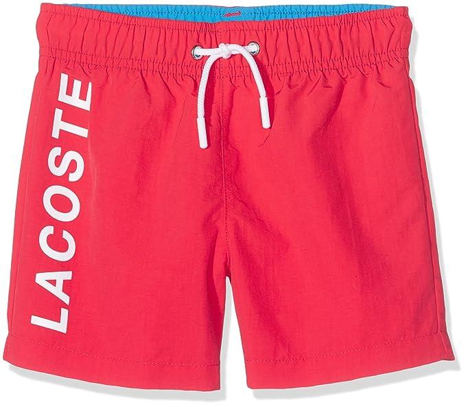 57748c5ec2 Lacoste Boys MJ2951 Swim Trunks - Multicolour - 8 Years: Amazon.co.uk:  Clothing