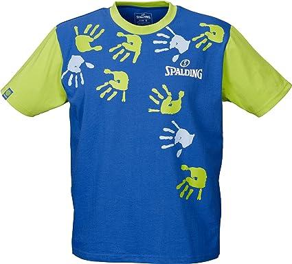 Spalding - Camiseta de baloncesto infantil, tamaño XS, color royalblau/verde: Amazon.es: Deportes y aire libre