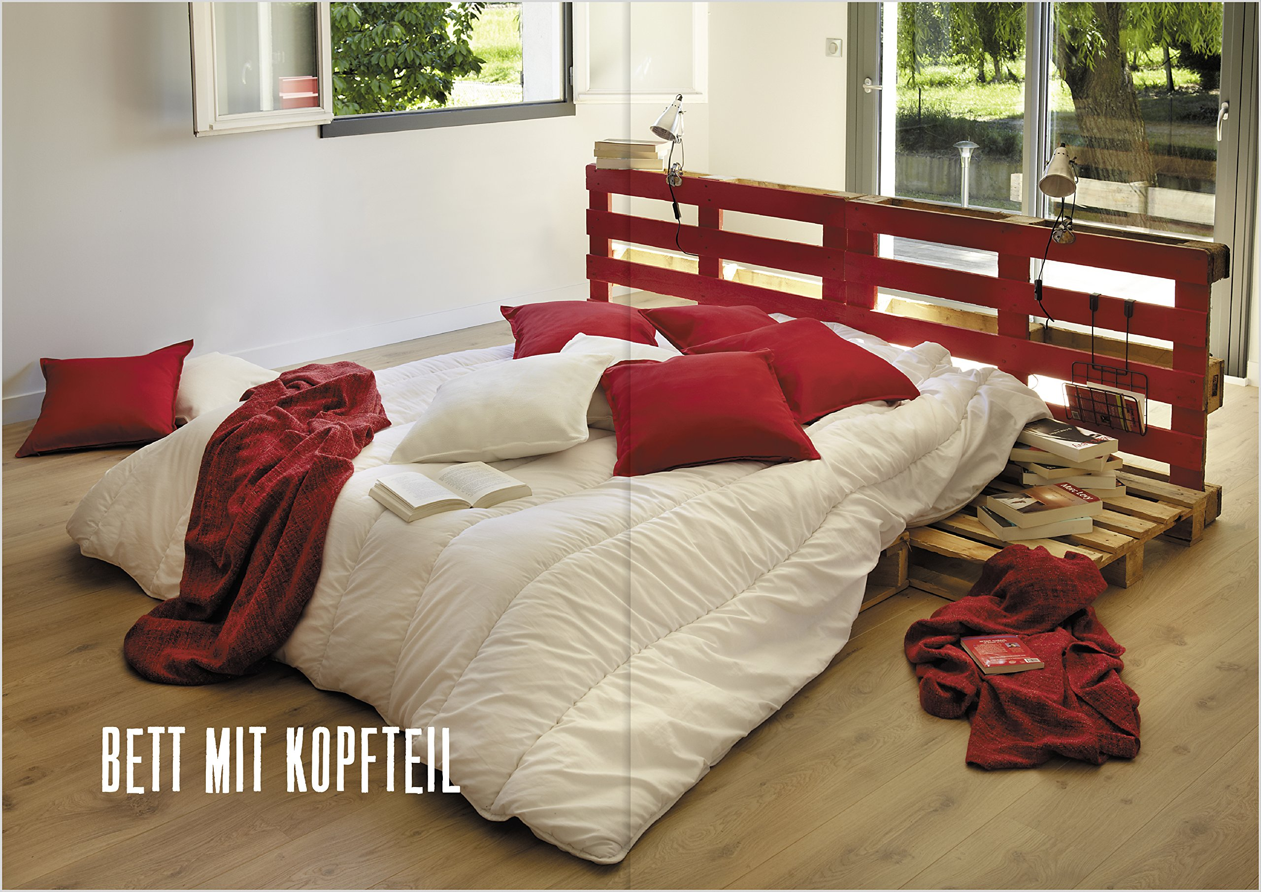 Astounding Holzpaletten Möbel Ideen Von Einfache Paletten-möbel Bauen: 18 Schritt-für-schritt-anleitungen Mit Handsäge,