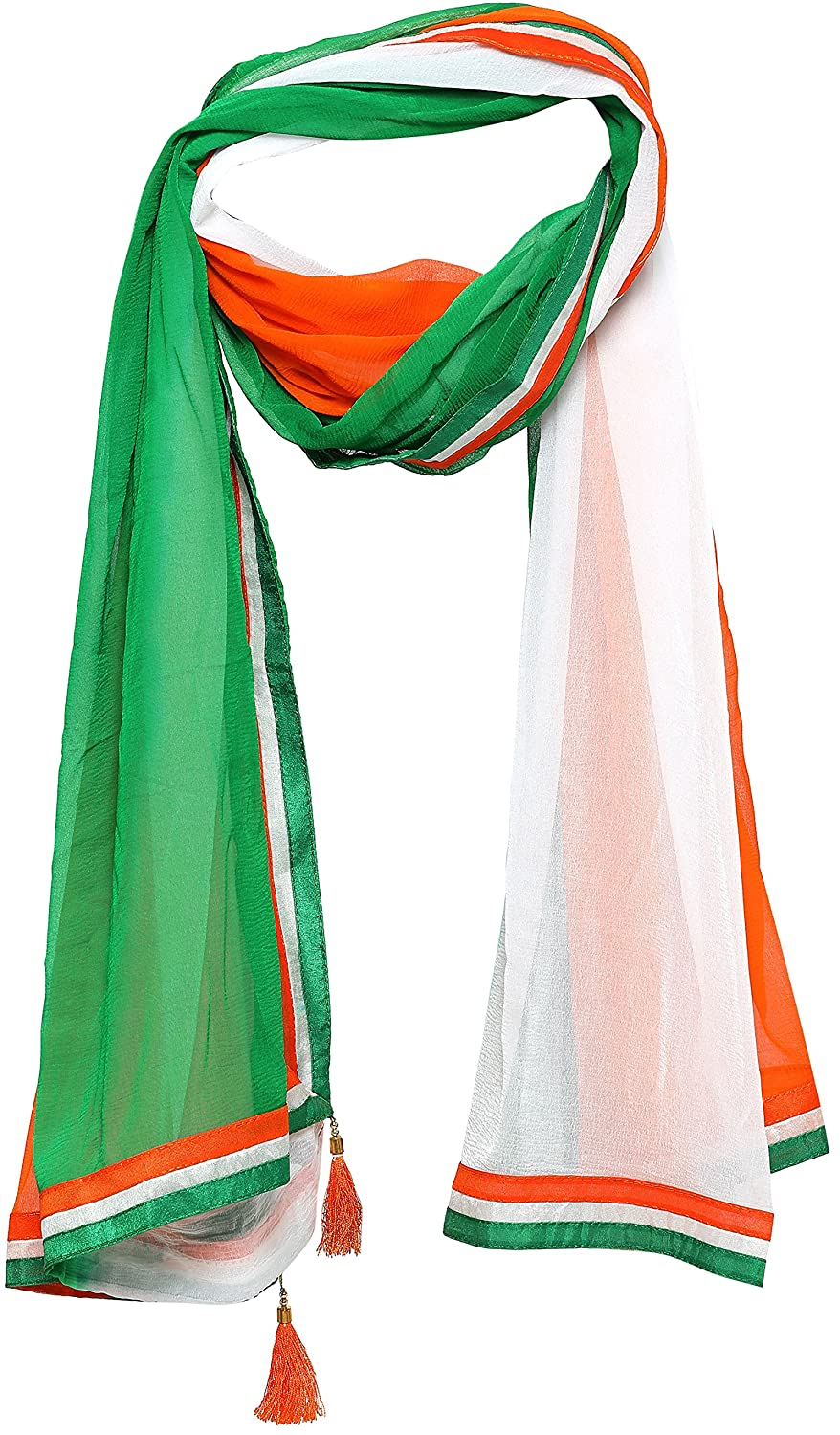 Independence Day Special Indian Flag Tricolor Dupatta