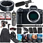 Canon EOS R Mirrorless Digital Camera (Body Only) and Mount Adapter