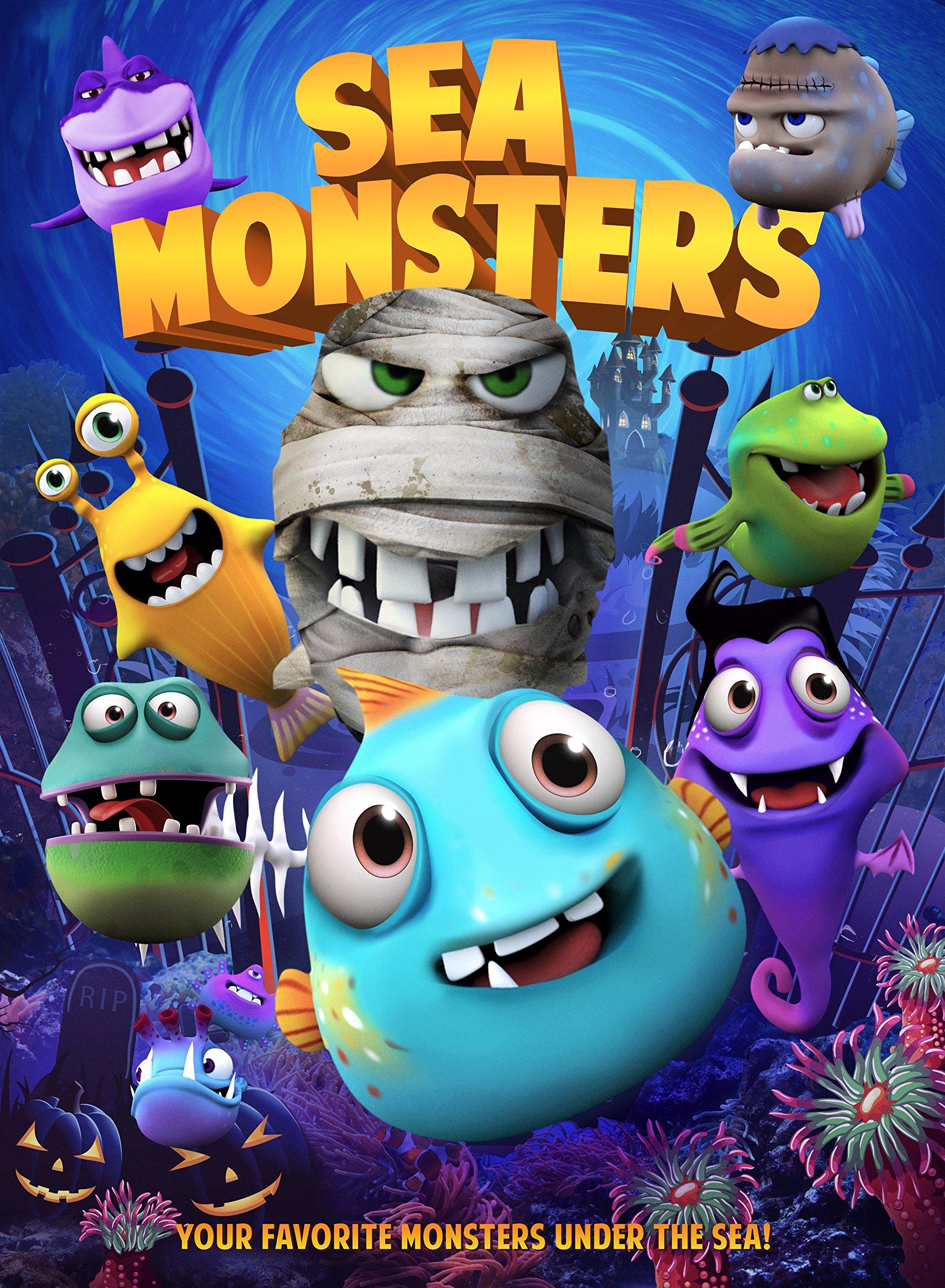 DVD : Sea Monsters (DVD)