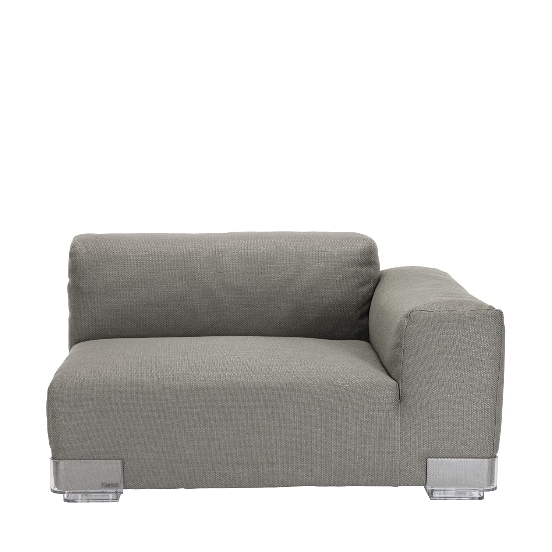 Plastics Duo 7097 Sessel Armlehne rechts niedrig - grau