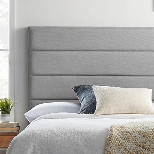LUCID Modern Upholstered Horizontal Tufted Headboard
