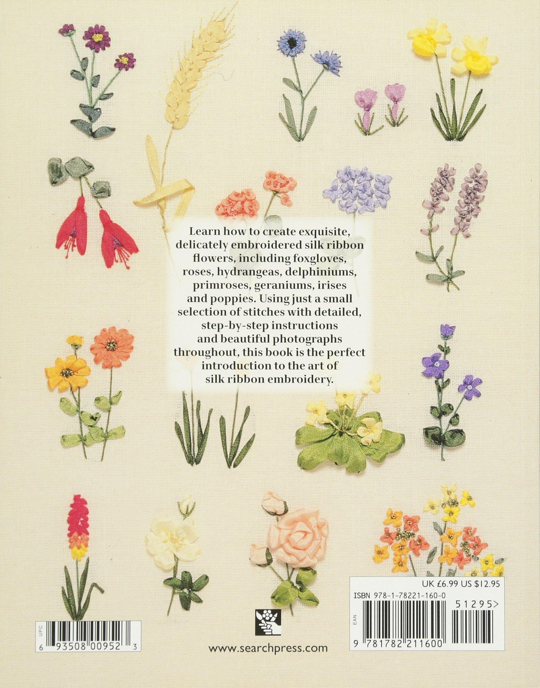 Beginner's Guide To Silk Ribbon Embroidery Search Press Classics:  Amazon: Ann Cox: Books