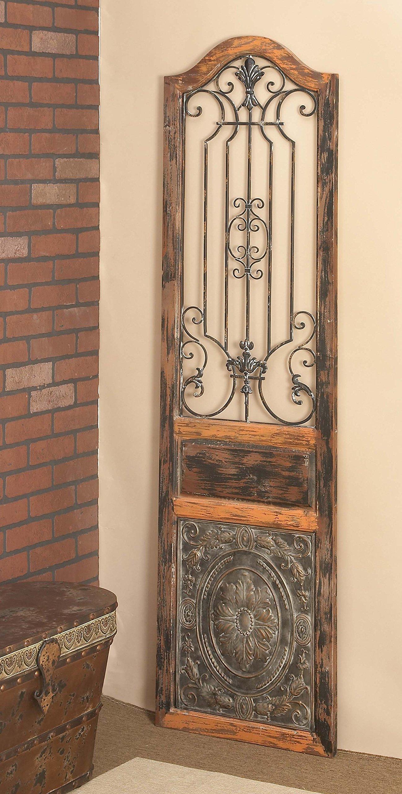 Deco 79 55832 Wood Metal Wall Decor