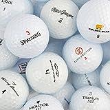 100 Assorted AAA/AA Grade Golf Balls Including Golf Training Tips