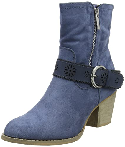 Joe Browns Brooklyn Ankle Boots, Bottines Femme, Bleu (Blue A), 37 EU