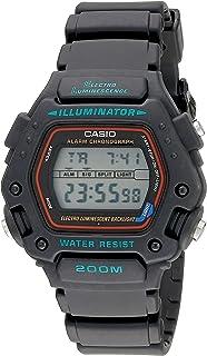 Casio DW290-1V - Reloj para Hombres, Correa de Resina Color Negro