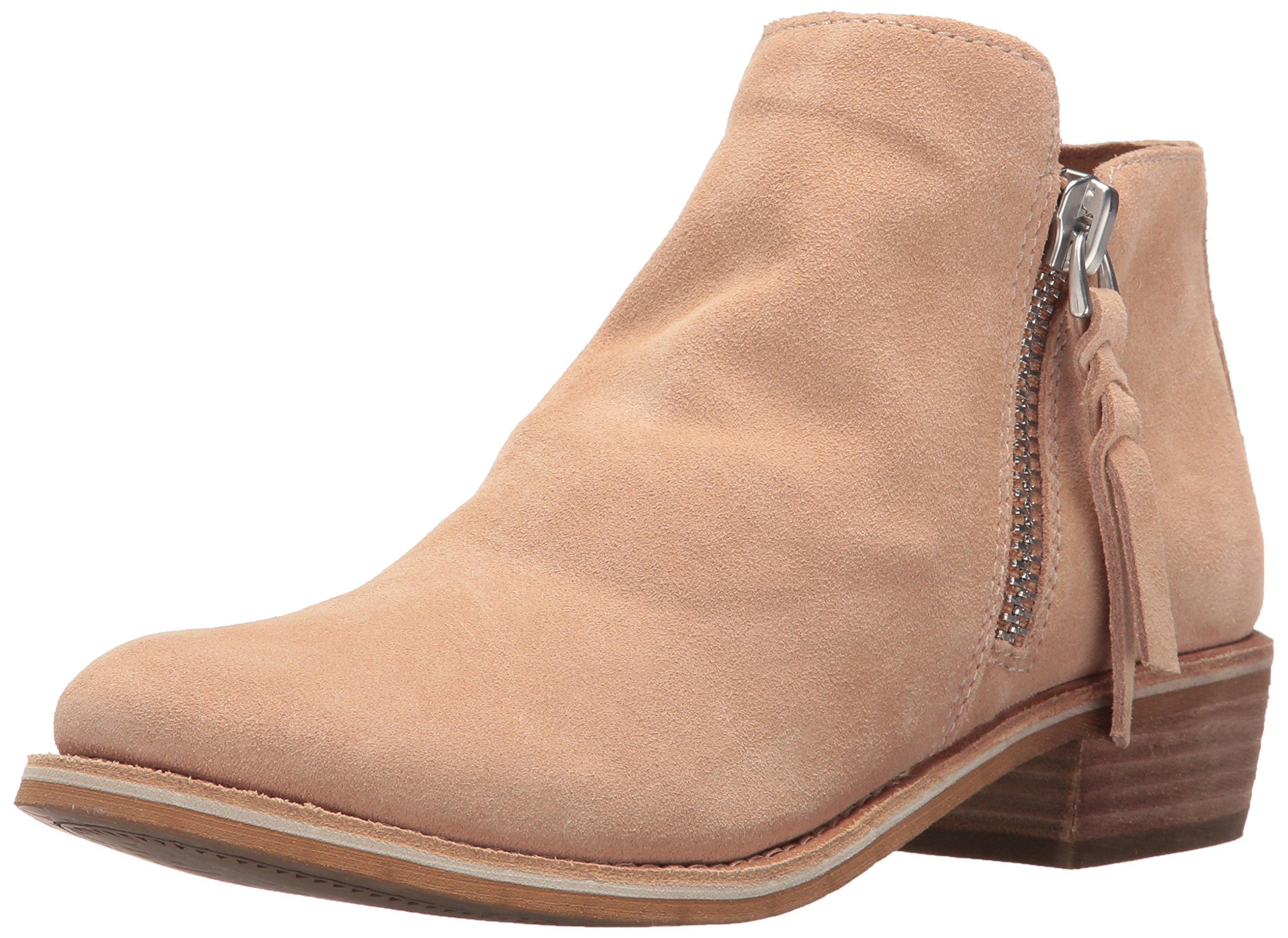 Dolce Vita Women's Sutton Boot, Blush Suede, 6.5 M US