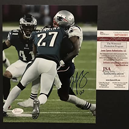 Image Unavailable. Image not available for. Color  Autographed Signed Malcolm  Jenkins Philadelphia Eagles ... fcfe51e87