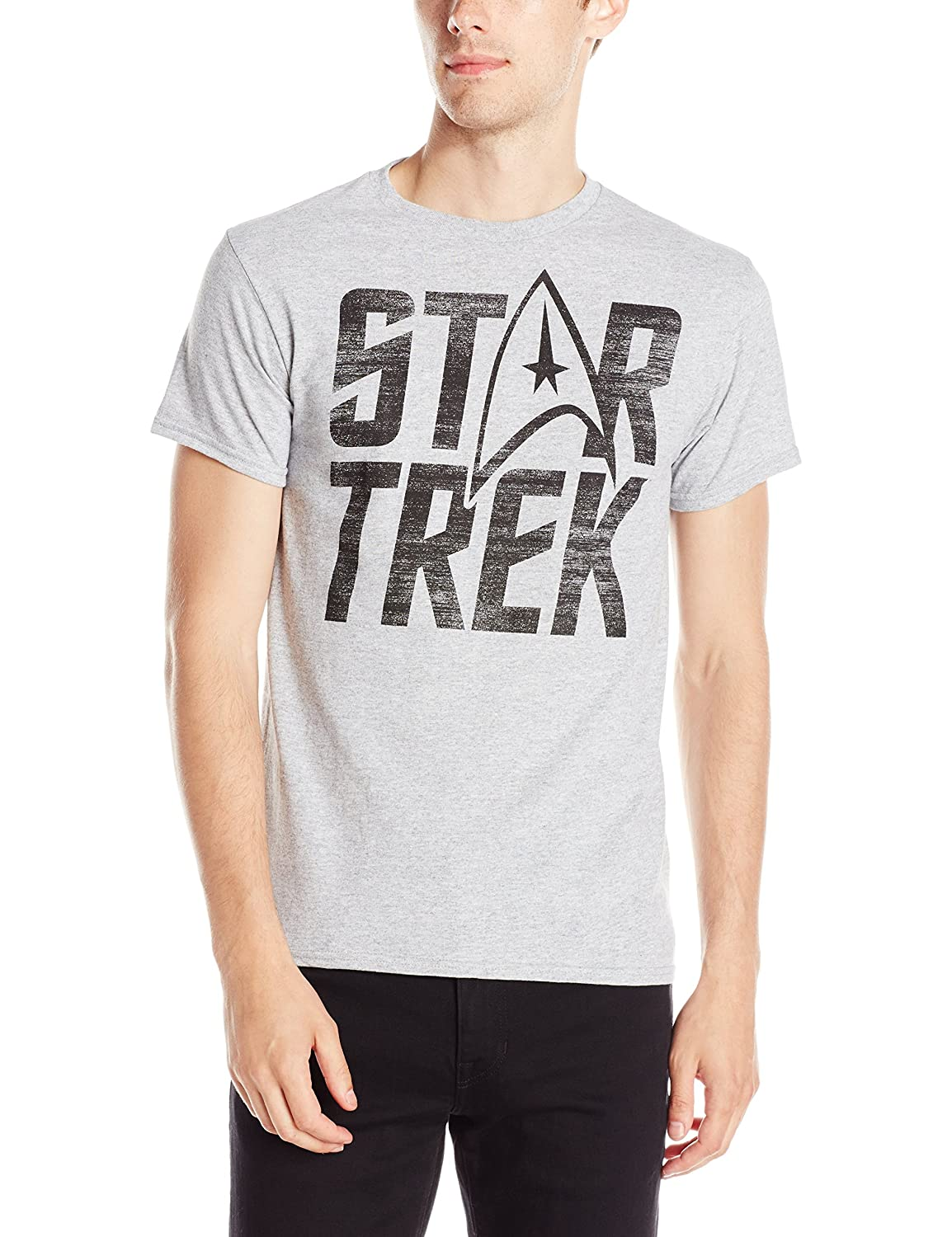 Hybrid Men's Star Trek Logo T-Shirt
