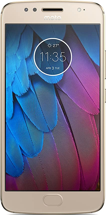 Motorola Moto G5 Dual SIM XT1794 Smartphone, Oro: Amazon.es ...
