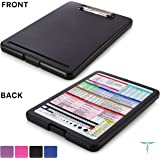 Nursing Clipboard with Storage by Tribe RN™ With Quick Access Medical References - Nurse / Student Edition