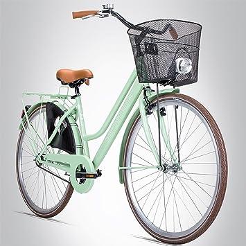 Bergsteiger Amsterdam – Bicicleta para mujer de 28 pulgadas con ...
