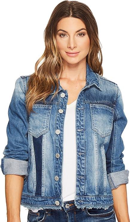 [Blanknyc] Blank Nyc Womens Western Color Block Jacket In World On Fire by %5 Bblanknyc%5 D