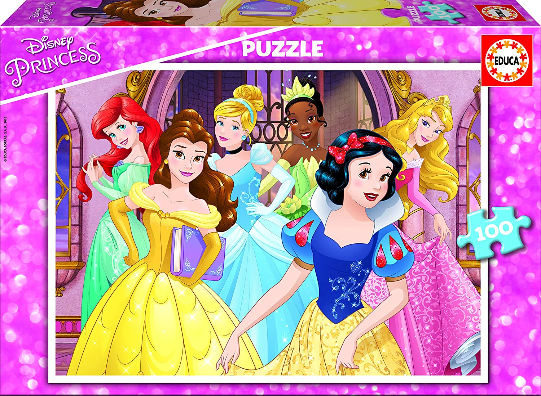 Princesas Disney Puzzle de piezas Educa Borrás
