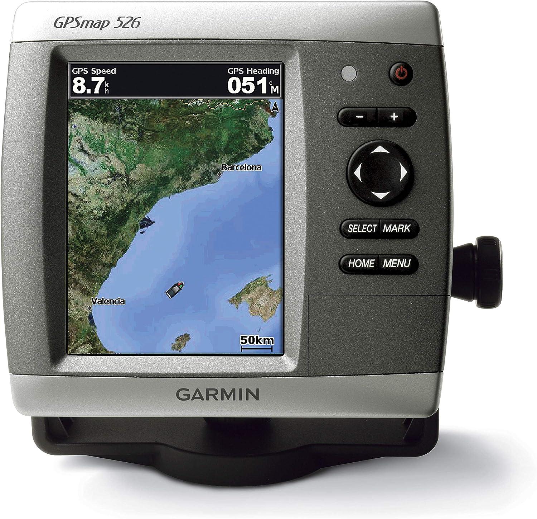 GARMIN Gpsmap 526 Cartografía G2 Vision Mediterráneo Central de Pantalla: Amazon.es: Deportes y aire libre