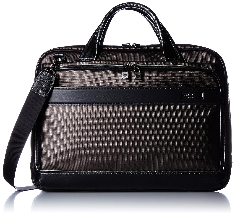 [バーマス] ビジネスバッグ MIJ 日本製 ブリーフ 42cm A4収納可能 2WAY 豊岡鞄認定商品 60036-10 B01AVRU02O ブラウン ブラウン