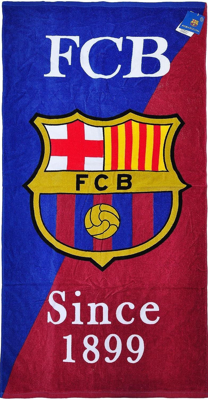 100% con licencia oficial FC Barcelona playa toallas de baño gimnasio nadar de Messi Suárez Neymar: Amazon.es: Hogar