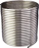 "HomeBrewStuff Stainless Steel Tubing Coil - 3/8"" x 50' - DIY Chiller, HERMS, or Moonshine Snake"