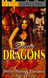 Between Dragons Fire: Shifter Menage Romance