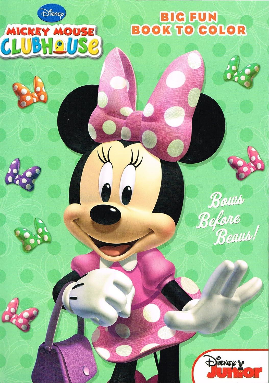 Amazon.com: Disney Minnie Mouse Coloring Books - 2-pack Set: Toys ...