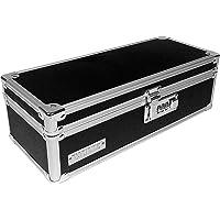 Vaultz VZ03480 - Caja de almacenamiento para medicinas (9.53 cm x 30.18 cm x 13.34 cm), color negro