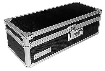 Vaultz Locking Medicine Storage Box, 3.75 X 11.88 X 5.25 Inches, Black  (VZ03480