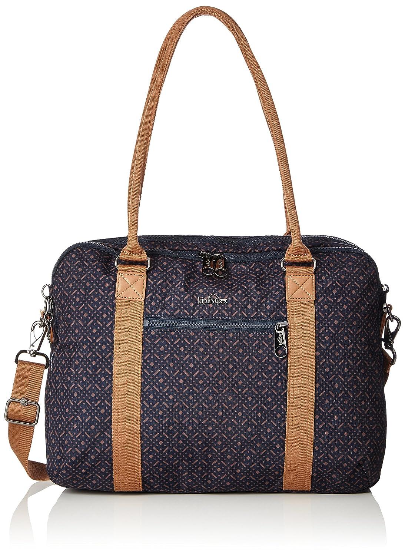 Kipling Neat, Bolsa para Portátil Unisex Adulto, Azul (Spark Graphite), 15x24x45 cm (W x H x L) K1021016V