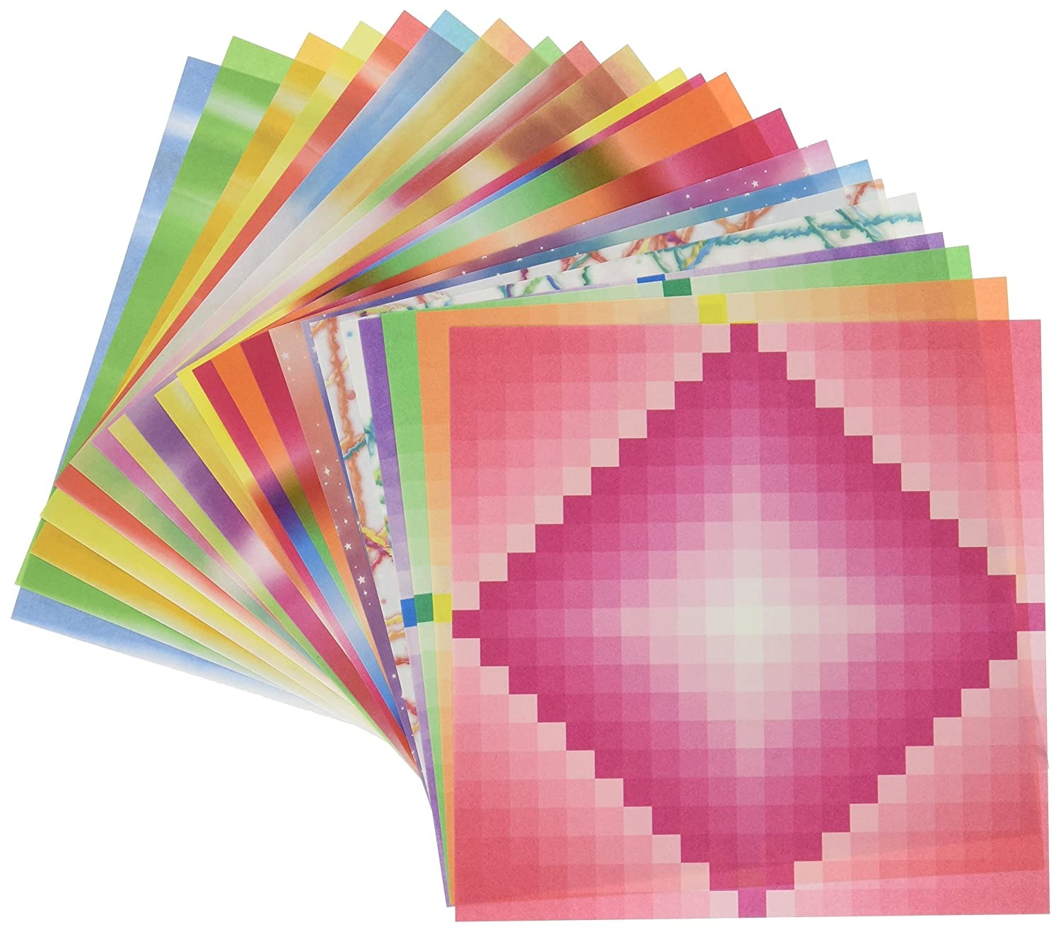 aitoh 5523 origami paper assorted pattern and color 57
