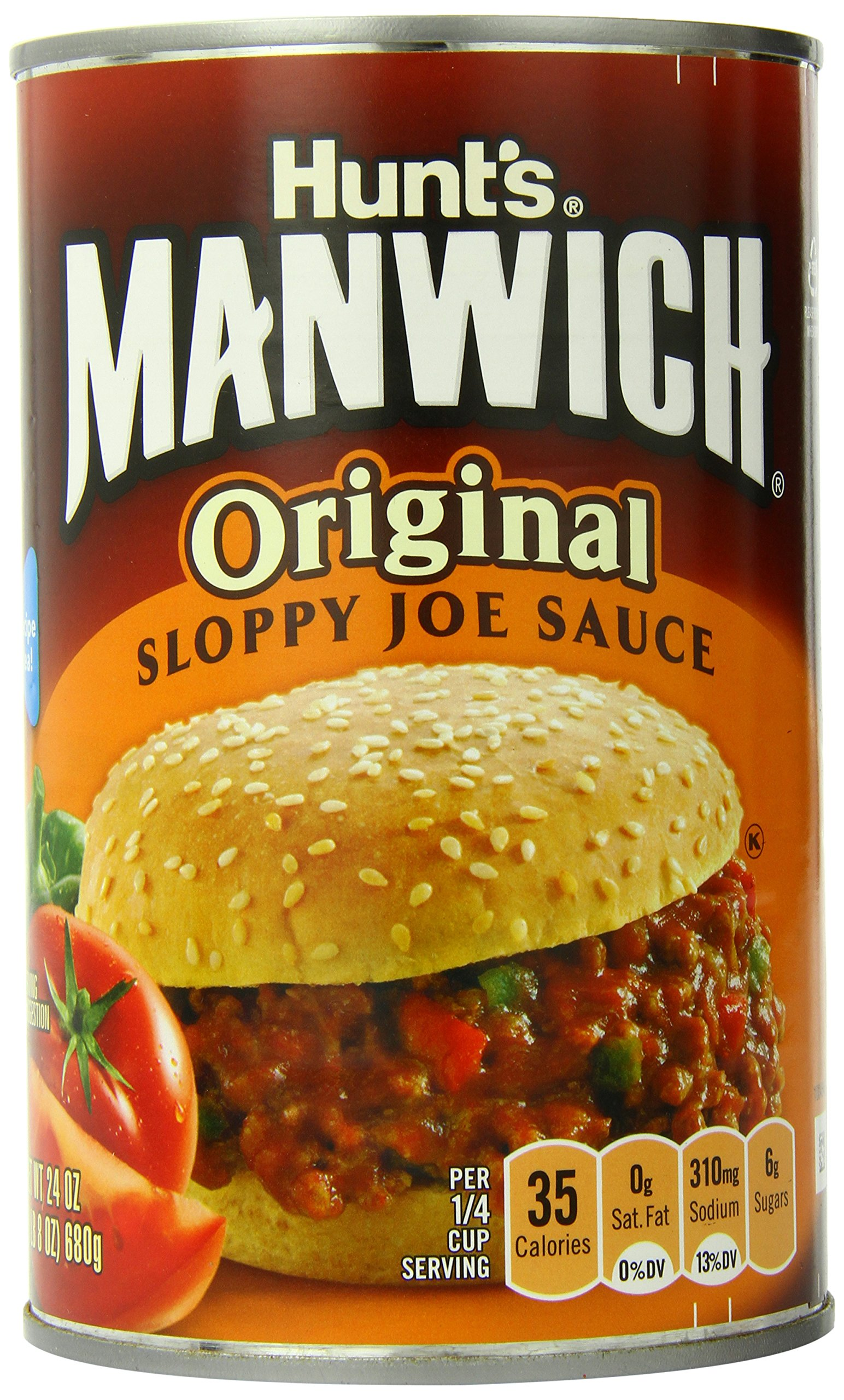 Manwich Original Sloppy Joe Sauce, 24 Ounce