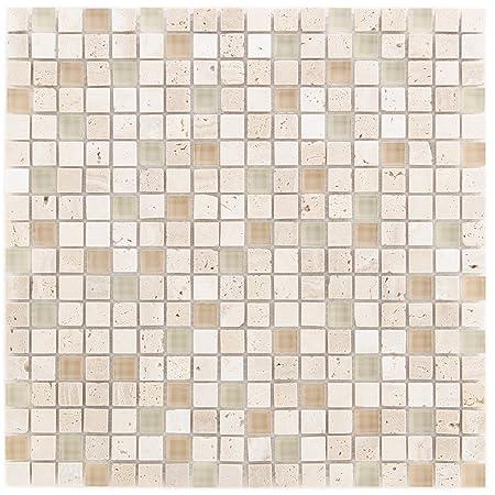 Shower Toilet Kitchen 10 Combination Cream Beige Wall Tiles Floor
