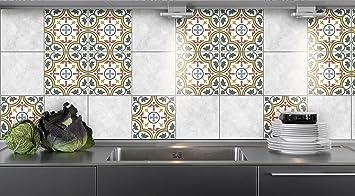 Küche Fliesen Aufkleber Moderne Muster Vinyl Film Für Badezimmer Wand  Fliesen Ideen Verschiedene Größen   16pcs