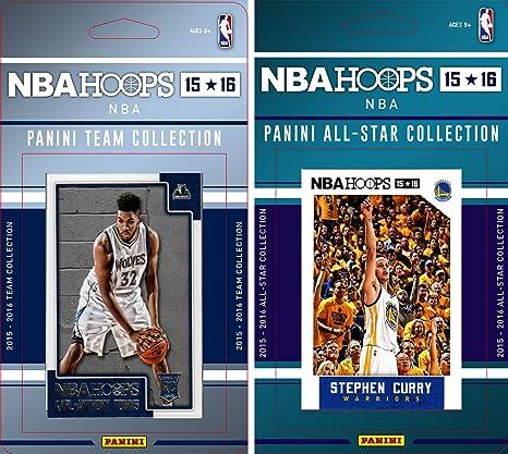 NBA Minnesota Timberwolves licencia 2015 - 16 Hoops equipo Plus ...