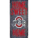 Ohio State Buckeyes Wood Sign - Home Sweet Home 6x12
